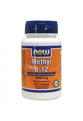 NOW Methyl B-12 1000 мкг - 100 дражета