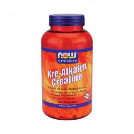 NOW Kre-Alkalyn 750 мг - 240 капсули