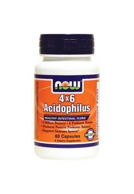 NOW Acidophilus 4X6 60 caps