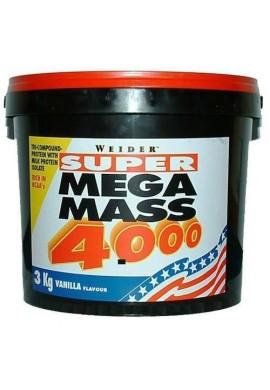 Weider Mega Mass 4000 3kg.