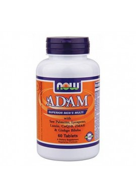 NOW Adam Men's Multivitamins 60 tabs