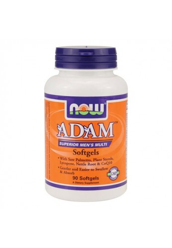 NOW Adam Men's Multivitamins 90 softgels