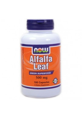 NOW Alfalfa Leaf 500 mg 100 caps