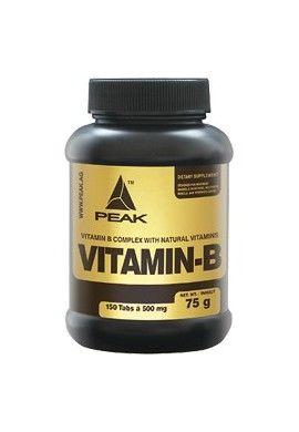 PEAK Vitamin-B 150tabs.X500mg.