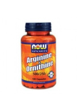 NOW Arginine/Ornithine 100caps