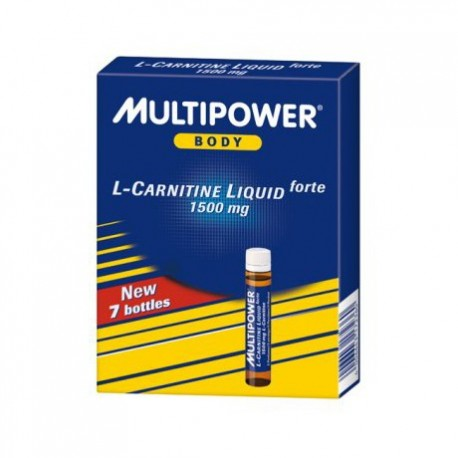 Multipower L-carnitine liquid 7ampoules