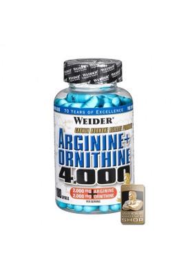Weider Arginine+Ornitine 4000 180caps.