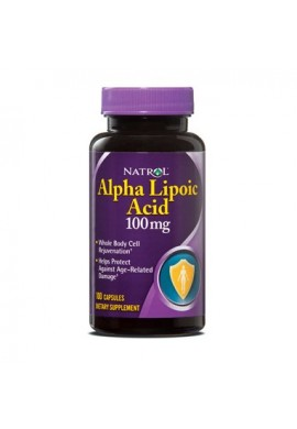 Natrol Alpha Lipoic Acid 100 mg 100 caps