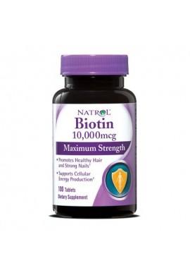 Natrol Biotin 10 000 mcg 100 tabs