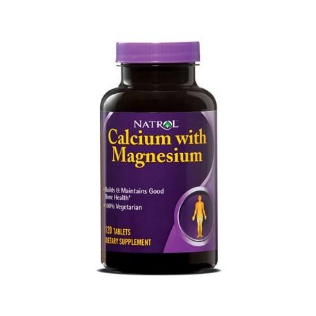 Natrol Calcium Magnesium 120 tabs
