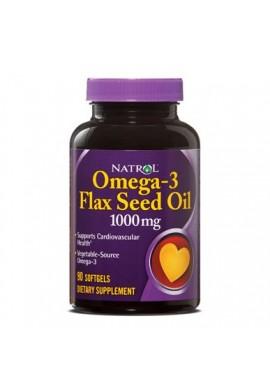 Natrol Flax Seed Oil 1000mg 90 softgels