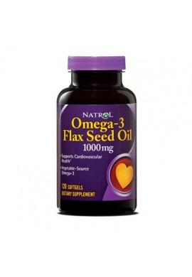 Natrol Flax Seed Oil 1000mg 120 softgels