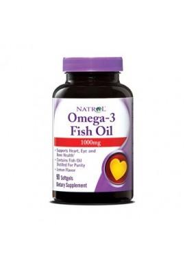 NATROL Omega-3 Fish Oil 1000mg 90softgels