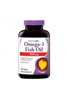 Natrol Omega-3 Fish Oil 1000 mg 150 softgels