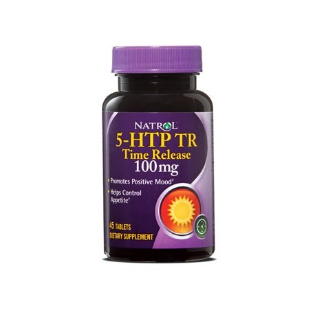 Natrol 5-HTP Time Release 100 mg 45 tabs