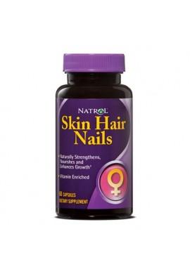 Natrol Skin Hair Nails 60 caps