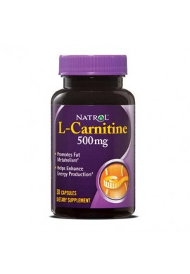 Natrol L-Carnitine 500 mg 30 caps