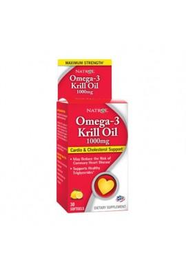 Natrol Omega-3 Krill Oil 1000mg 30 softgels
