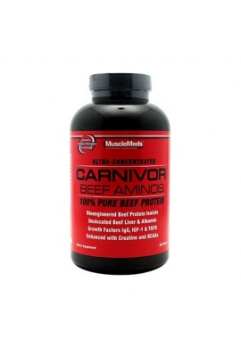 Musclemeds CARNIVOR BEEF AMINOS 300 tabs.
