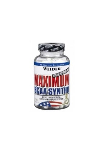 WEIDER MAXIMUM BCAA SYNTHO 120caps