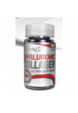 Biotech Hyaluronic & Collagen 30 caps