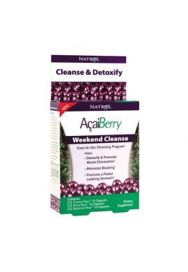 Natrol AçaíBerry Weekend Cleanse 30 caps
