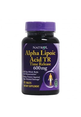 Natrol Alpha Lipoic Acid 600mg - Time Release 45 tabs