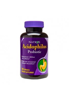 Natrol Acidophilus 100mg 100 caps