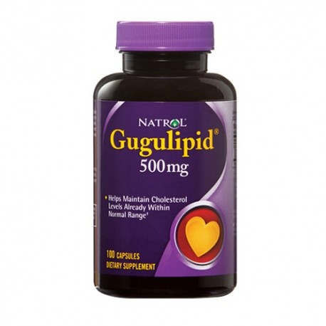 Natrol Gugulipid 500mg 100 caps