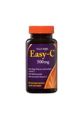 Natrol Easy-C 500mg+Citrus Bioflavonoids 60 caps