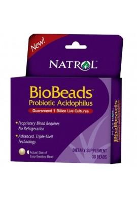 Natrol BioBeadsTM Probiotic Acidophilus 30 beads