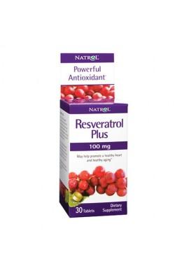 Natrol Resveratrol Plus 100mg 30 tabs