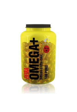 4+ Nutrition Omega+ 100 softgels
