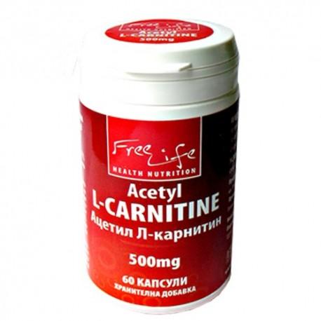 Freelife Acetil L-Carnitine 500 mg 60 caps