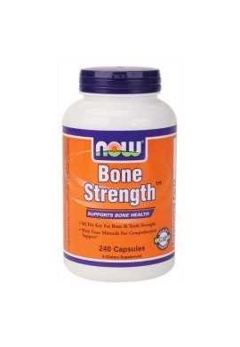 NOW Bone Strength - 120caps.
