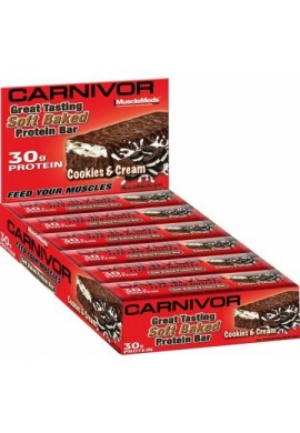 Musclemeds CARNIVOR Protein Bar BOX
