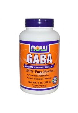 NOW GABA Прах - 170 g