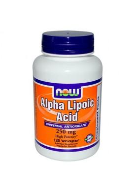 NOW Alpha Lipoic Acid 250 mg - 60 капсули