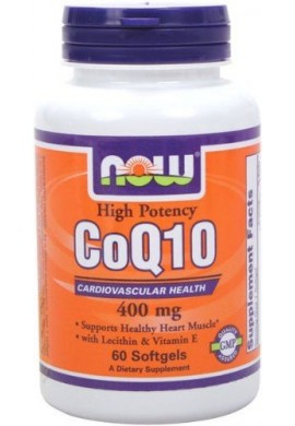 NOW CoQ10 400 mg - 30 дражета