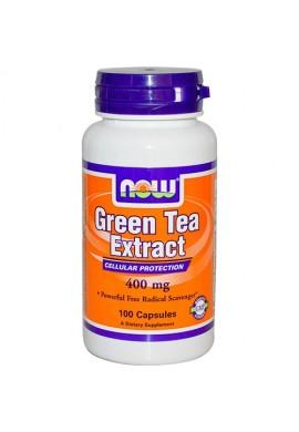 NOW Green Tea Extract 400 mg 60% - 100 капсули