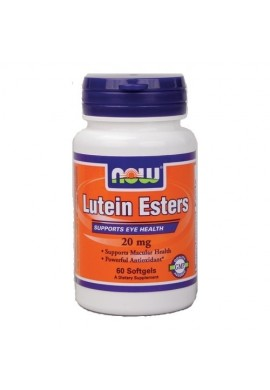 NOW Lutein Esters 20 mg - 60 дражета