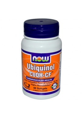 NOW Ubiquinol CoQH-CF™ - 60 дражета