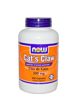 NOW Cat's Claw 500 mg - 250 капсули