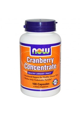 NOW Cranberry Concentrate - 100 капсули
