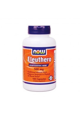 NOW Eleuthero 500 mg - 100 капсули