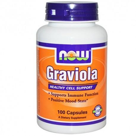 NOW Graviola 500 mg - 100 капсули