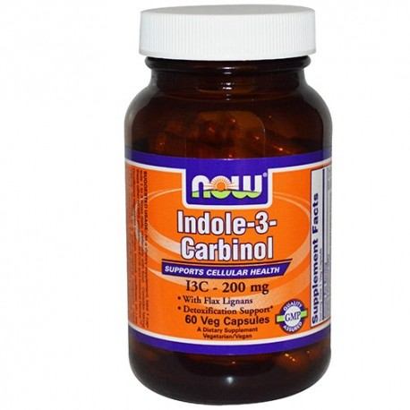 NOW Indole-3-Carbinol - 60 капсули