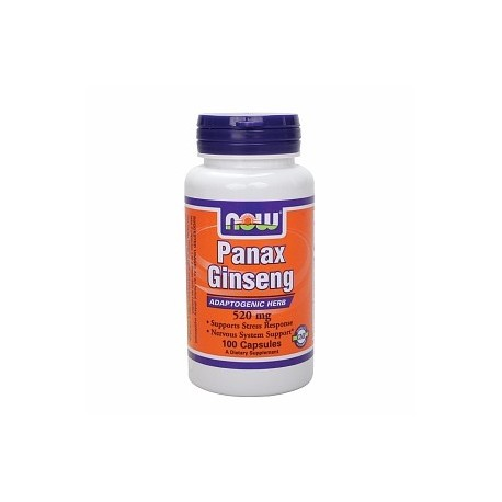NOW Panax Ginseng 520 mg - 100 капсули