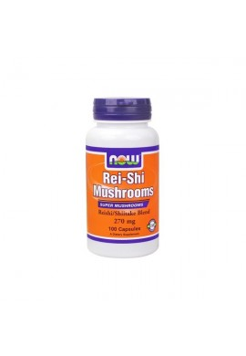 NOW Rei-Shi Mushrooms 270 mg - 100 капсули