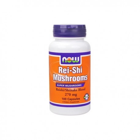 NOW Rei-Shi Mushrooms 270 mg - 100 капсули